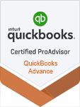 Certified ProAdviser QuickBooks Advance