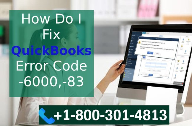 QuickBooks Error -6000,-83 Troubleshooting