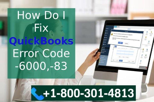 QuickBooks Error -6000,-83 Troubleshooting