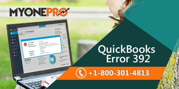 QuickBooks Error 392 View