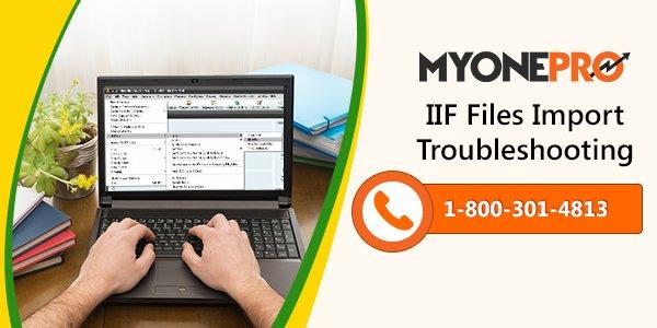QuickBooks IIF Files Import issues & Errors