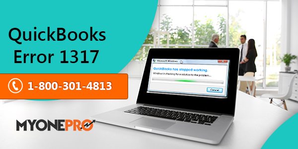 QuickBooks Error  Code 1317