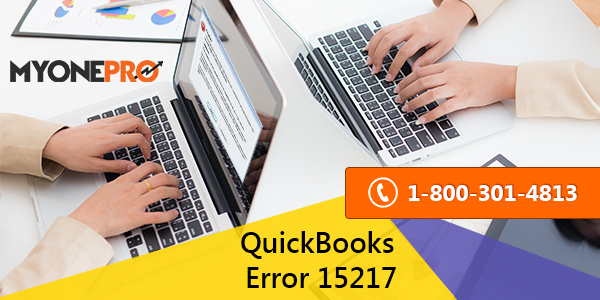 Fix QuickBooks Error 15217