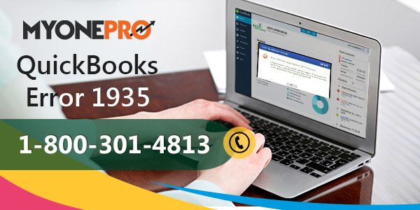 QuickBooks Error 1935 : Fix , Resolve , Support