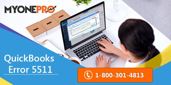 Fix QuickBooks Error 5511