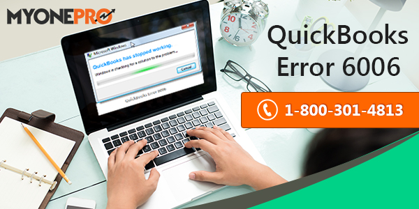 QuickBooks Error Code  6006