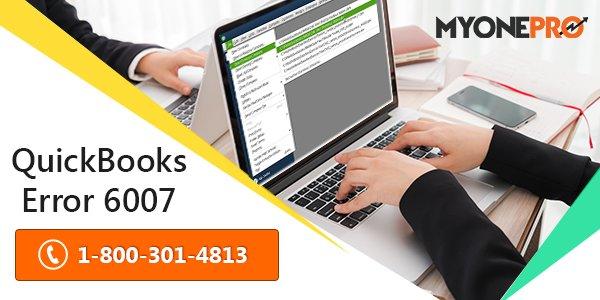 QuickBooks Error 6007
