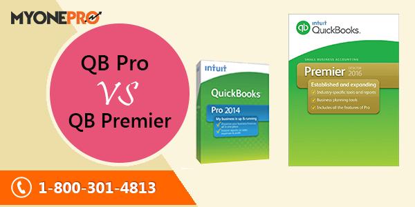 Quickbooks Pro vs Premier Comparison Chart