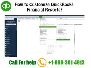 How to customize a report in QuickBooks
