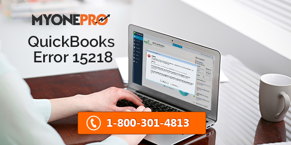 Fixing QuickBooks Error Code 15218 Step by Step