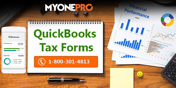 Customer Can File Their Tax Using QuickBooks Form