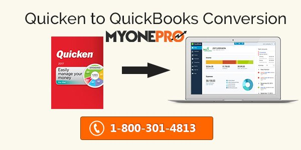 Steps for Converting Quicken to QuickBooks