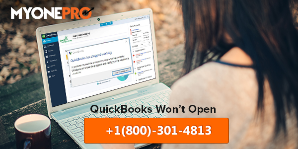 Quickbooks Has Stopped Working When Opening