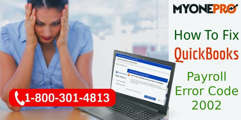 QuickBooks Payroll Error 2002