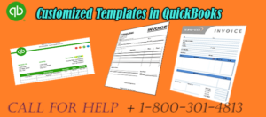 How to add QuickBooks Customize Templates