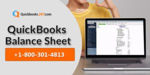 Create a Balance Sheet in QuickBooks