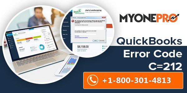 Intuit QuickBooks File Recovery Error Code Error Code C=212