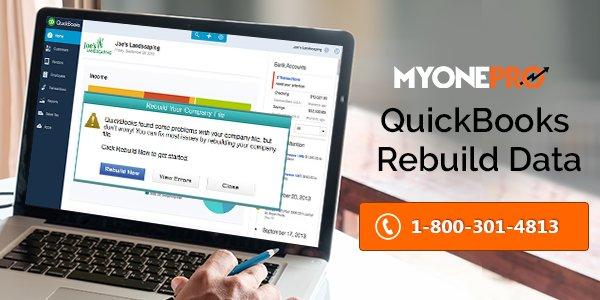 Verifying & Rebuilding QuickBooks Data File