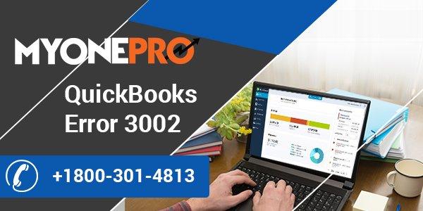 Fixing of Intuit QuickBooks Desktop Error Code 3002