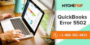 How to Fix QuickBooks Error 5502