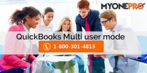 Switching From Single User Mode to multi-user mode In QuickBooks