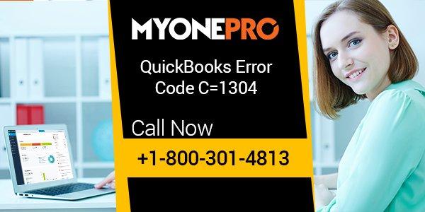 How to Fix qb-error-code-C=1304