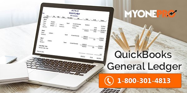 General Ledger Report QuickBooks with balance summary