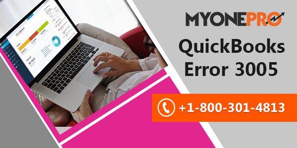 Fixing QuickBooks Error 3005