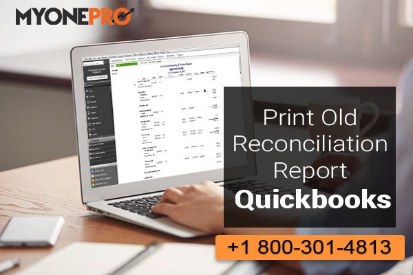 Finding Previous Bank Reconciliations QuickBooks