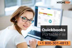 QuickBooks portable company file Create /restore