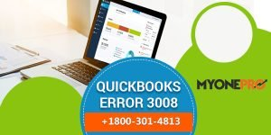 How to Fix QuickBooks Error Code 3008