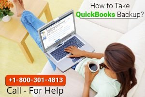 Back up the QuickBooks company file