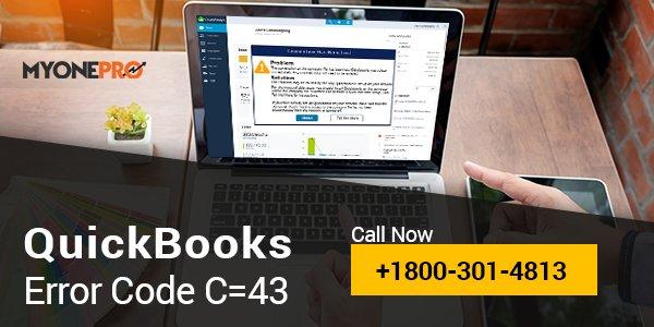 Quickbooks File Recovery Error C=43 Repair