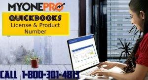Locate QuickBooks License Key