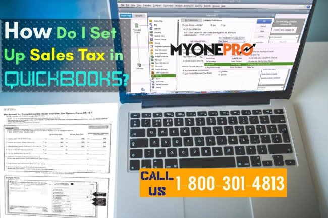 How do I turn on sales tax in QuickBooks?