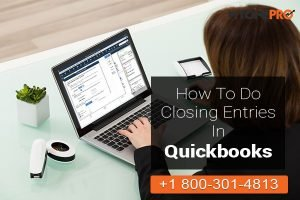 Closing Entry in QuickBooks Software