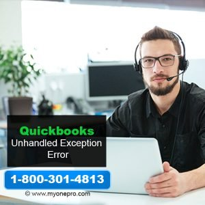How To Fix 'Unhandled exception has occurred in QuickBooks