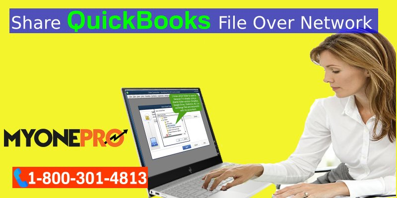 Share QuickBooks Company File Remotely