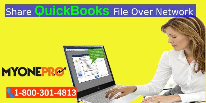 Share QuickBooks Company File Remotely