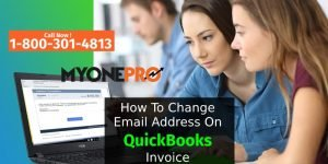 Changing From Email In QuickBooks Invoices