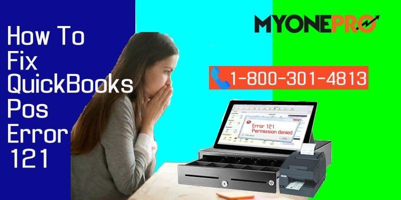 QuickBooks DESKTOP POS Error 121 Solutions