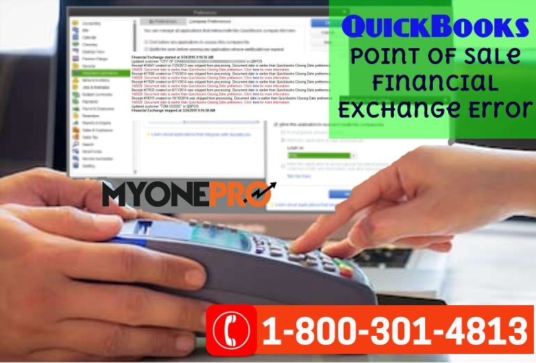 Dealing With  Financial Exchange Error QuickBooks Point Of Sale