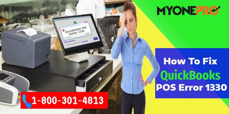 QuickBooks POS 18.0 Error 1330 Fixing