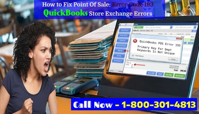 QuickBooks Point of Sale Error 193 Fixing