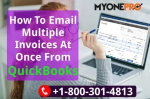 Create & Email Multi Invoices QB POS