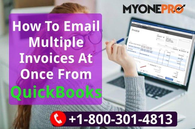 Create & Email Multi Invoices QB POS