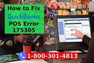 QuickBooks Point Of Sale Error Code 175305