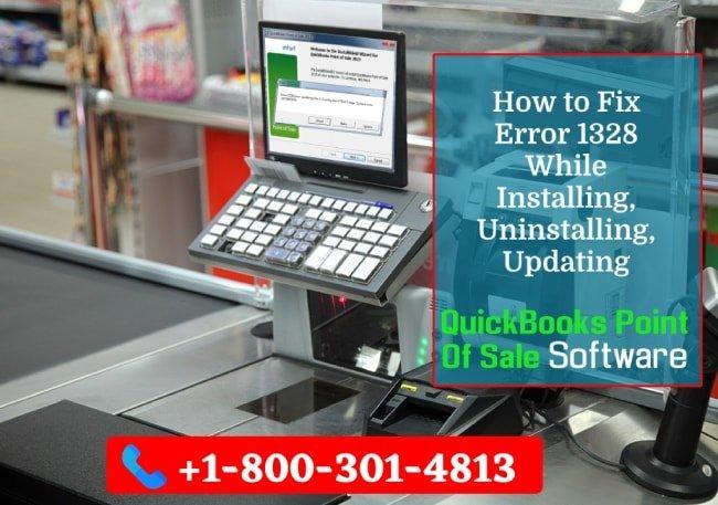 Resolve QuickBooks POS Error 1328