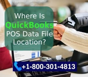 Search QB POS Data File Location