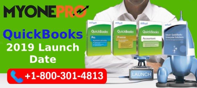 QuickBooks Desktop  2019 Launch News